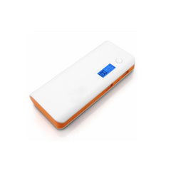 Dual USB Power Bank 11000mAh - White Orange