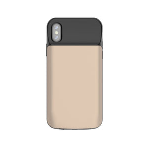 iPhone X/XS Battery Case 6000mAh - Gold