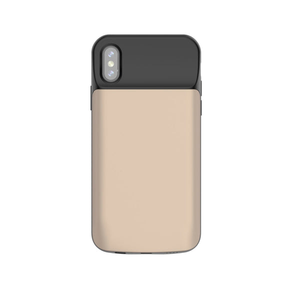 iPhone X Battery Case 6000mAh - Gold