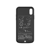iPhone X/XS Battery Case 6000mAh - Black