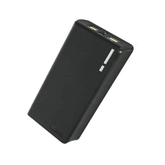 Dual USB Power Bank 20000mAh - Black