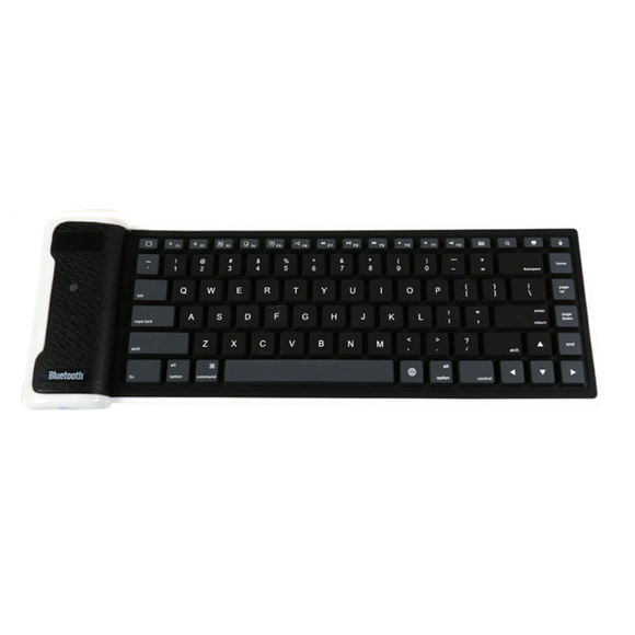Flexible Bluetooth Keyboard - Black - Tangled - 1