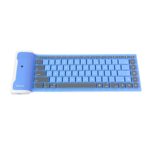 Flexible Bluetooth Keyboard - Blue - Tangled - 1