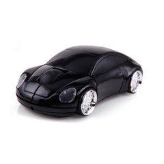 Wireless Mouse - Black Porsche