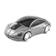 Wireless Mouse - Silver Porsche