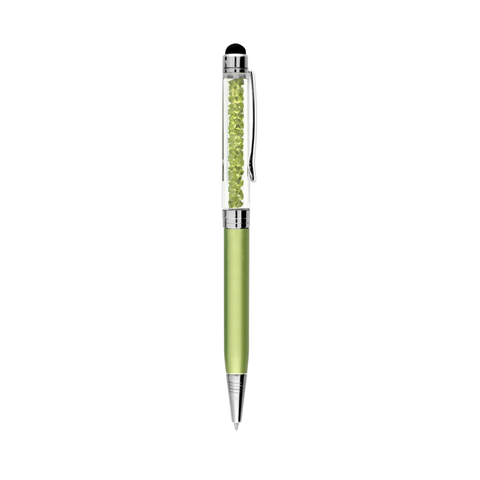 Crystal Stylus Pen - Green