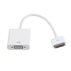 Dock Connector to VGA for iPad and iPhone
