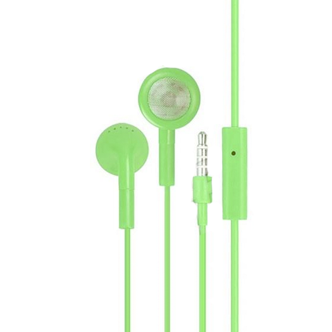 Earphones - Green