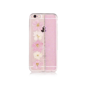 iPhone 6/6S Flower Case - Pink - Tangled