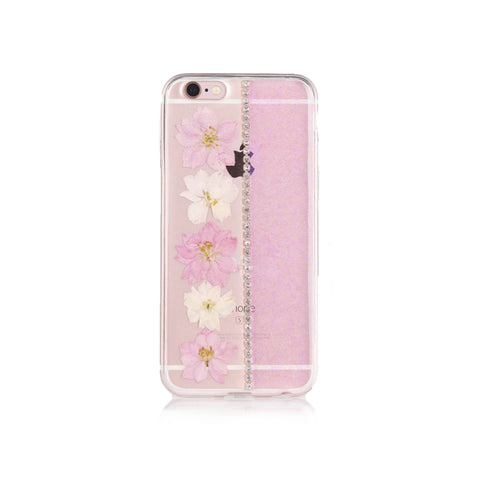 iPhone 6/6S Flower Case - Pink
