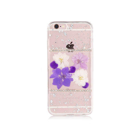 iPhone 6/6S Flower Case - Purple