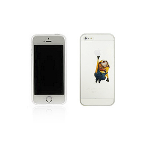 iPhone 5/5S Case - Hanging Minion - Tangled
