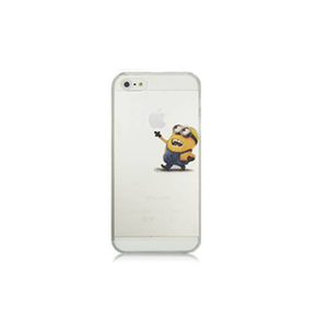 iPhone 5/5S Happy Minion Case - Tangled