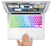 "MacBook Air 13"" KeyBoard Cover - Rainbow"