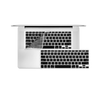 "12"" MacBook KeyBoard Cover - Black"