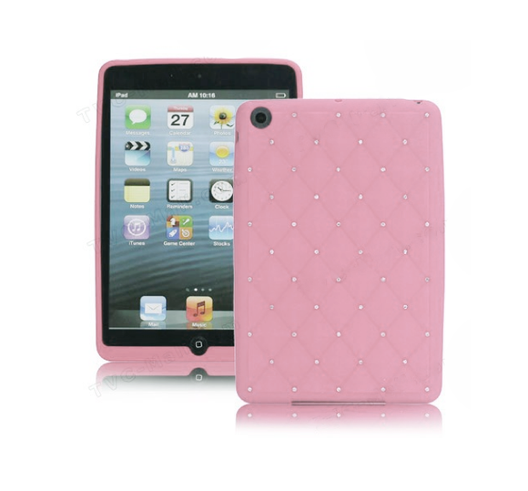 iPad Mini Jewel Cover - Pink - Tangled