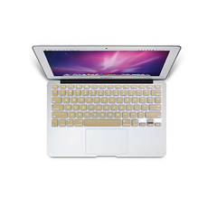 "MacBook Air 11"" KeyBoard Cover - Gold"
