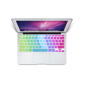 "MacBook Air 11"" KeyBoard Cover - Rainbow - Tangled - 1"