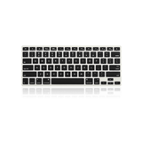 "12"" MacBook KeyBoard Cover - Black - Tangled - 3"