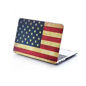 "MacBook Air 11"" Case - US Flag - Tangled - 1"