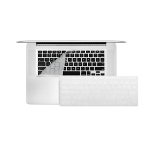 "12"" MacBook KeyBoard Cover - Clear - Tangled - 1"