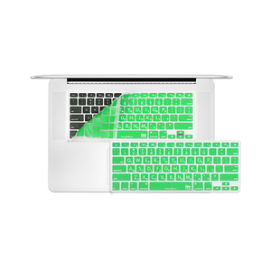"12"" MacBook KeyBoard Cover - Green - Tangled - 1"