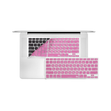 "12"" MacBook KeyBoard Cover - Pink - Tangled - 1"