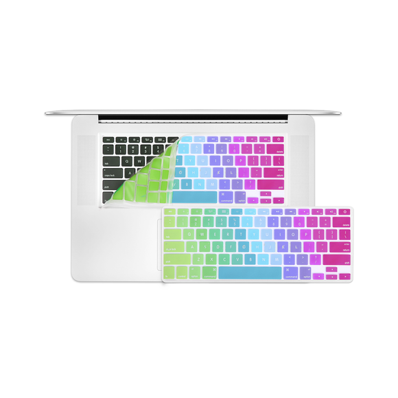 MacBook Pro KeyBoard Cover - Rainbow - Tangled - 1
