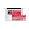 "12"" MacBook KeyBoard Cover - Red"