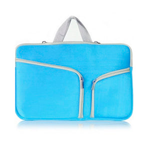 "11"" MacBook Zip Bag - Blue"