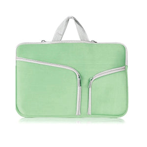 "15"" MacBook Zip Bag - Green"