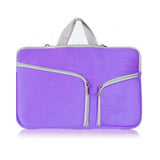 "11"" MacBook Zip Bag - Purple"