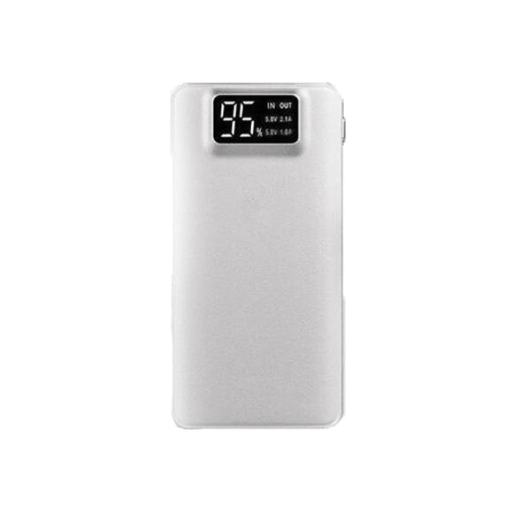 Dual USB Powerbank 16000mAh - White