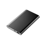 Dual USB Powerbank 12000mAh - Black