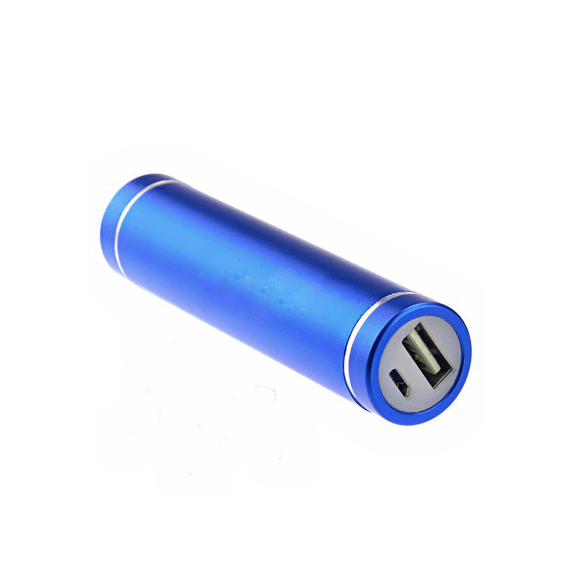 Power Bank 2600mAh - Blue - Tangled