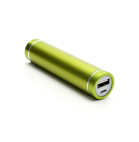 Power Bank 2600mAh - Green - Tangled