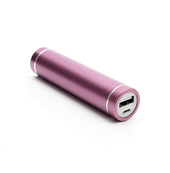 Power Bank 2600mAh - Pink - Tangled