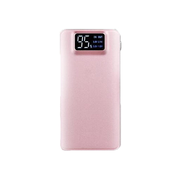 Dual USB Powerbank 16000mAh - Pink