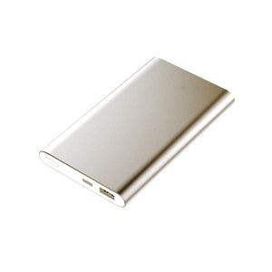 Dual USB Powerbank 12000mAh - Gold