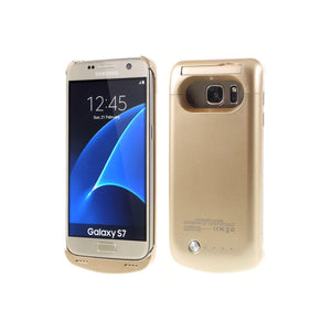Samsung S7 Battery Case 4200mAh - Gold - Tangled - 1