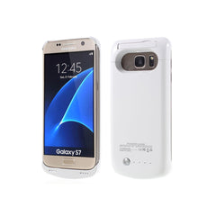 Samsung S7 Battery Case 4200mAh - White