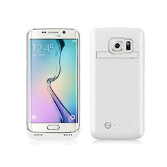Samsung S6 Plus Battery Case 4200mAh - White
