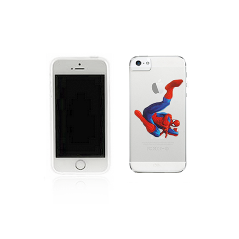 iPhone 4/4S Case - SpiderMan - Tangled