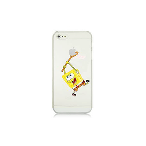 iPhone 5/5S SpongeBob Case - Tangled - 1