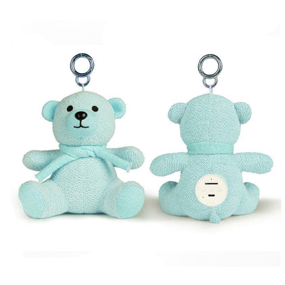 Bluetooth Teddy Bear Speaker - Blue