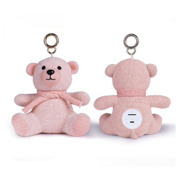Bluetooth Teddy Bear Speaker - Pink