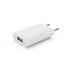 USB Wall Plug - White