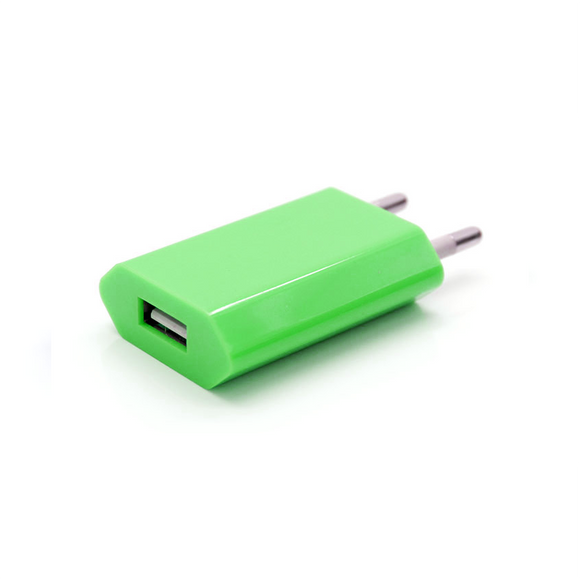 USB Wall Plug - Green - Tangled - 1