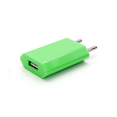 USB Wall Plug - Green