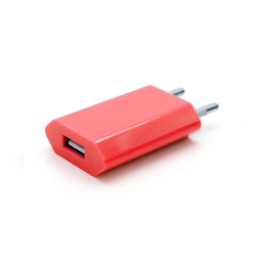 USB Wall Plug - Red